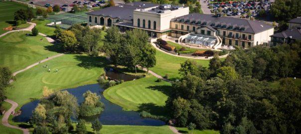 Birds Eye View Of Golf Course
